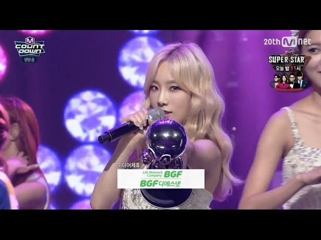150903 [HD] SNSD-Lion Heart No.1+Encore (7th Win) @ MCD