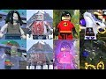 All Invisible Characters in Lego Videogames! (2010 - 2018) PART 2