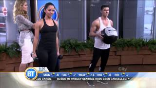 Get fit like a pro with Seon Holmes