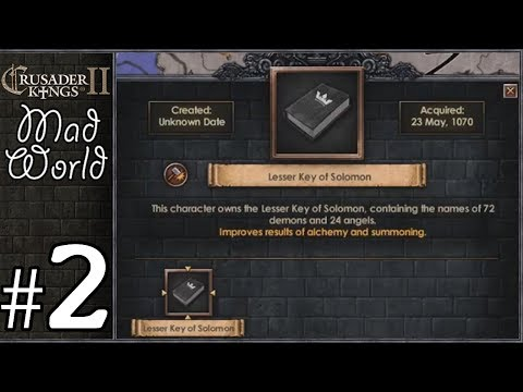 Crusader Kings 2: Mad World #2 - Summoning Demons - YouTube