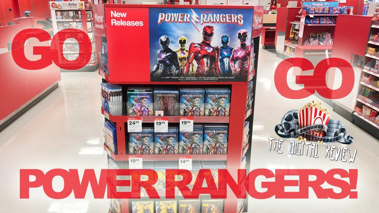 GO GO POWER RANGERS! Power Rangers Steelbook 6/27/2017 Blu-Ray & DVD  Releases