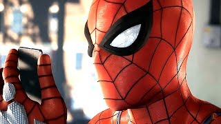 New Spiderman Game Walkthrough - PS4 Gameplay | E3 2017 Playstation 4 Sony Press Conference