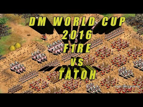 AoE2 - DM World Cup 2016, TaToH vs Fire, Group Stage