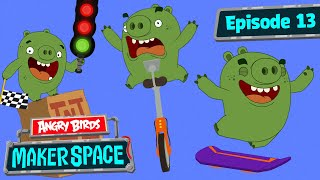 Angry Birds MakerSpace | Hoverboard Showdown! - S1 Ep13