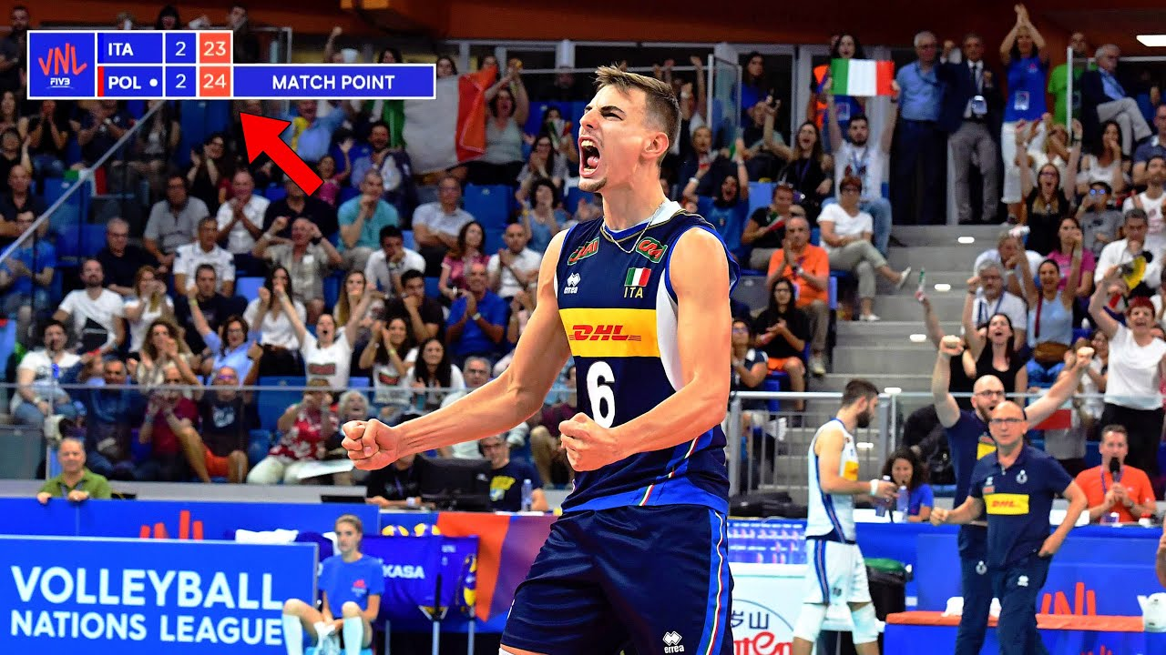 The Most DRAMATIC Match in Volleyball History (HD)