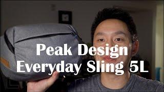 Peak Design Everyday Sling 5L Honest Long Term Review