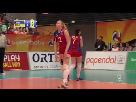 Volleyball European Championship Under 18 Italy - Russia Final 2017
