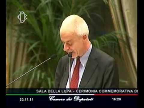 Commemorazione di Antonio Cassese - Camera dei Deputati, Sala della Lupa - 23.11.2011