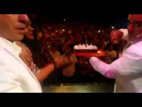 Jorge Rial y Mariana Antoniale sorprendieron a Morena en el día de su cumpleaños