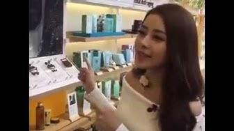 Chi Pu khám phá cửa hàng đầu tiên của #Innisfree tại Việt Nam