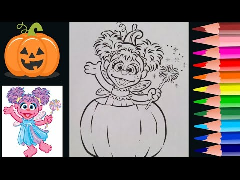 Abby Caddaby Halloween Coloring Page 🎃 Coloring for Kids ...