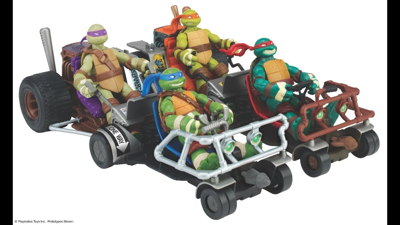 Teenage Mutant Ninja Turtles Turtle Patrol Buggies Review