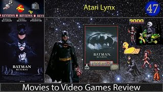 Movies to Video Games Review -- Batman Returns (Atari Lynx)