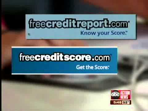 Don't Waste Your Money: Are 'free credit reports' free?