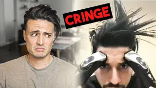 The Cringy World of Instagram's MENS HAIR Content