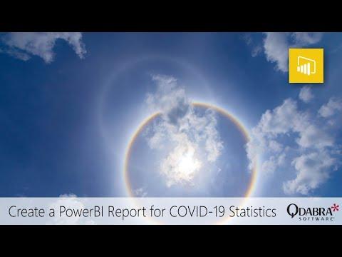 PowerBI Report For COVID-19 Statistics #2: Qdabra Webinar 2020-07-02