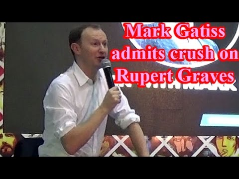 Mark Gatiss admits having crush on Rupert Graves