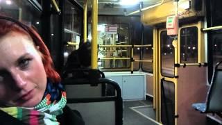 Łódź, tramwaj, czwarta rano