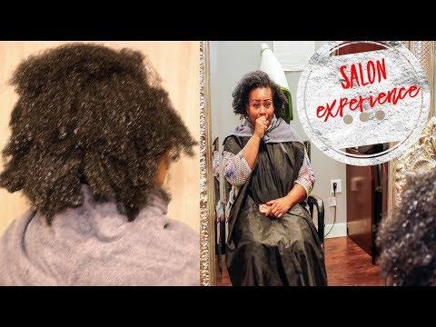 Deva Cut | Wash and Go on 4C Hair Salon Experience