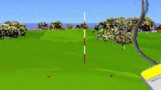 How To Aim In Microsoft Golf for Windows 3.1