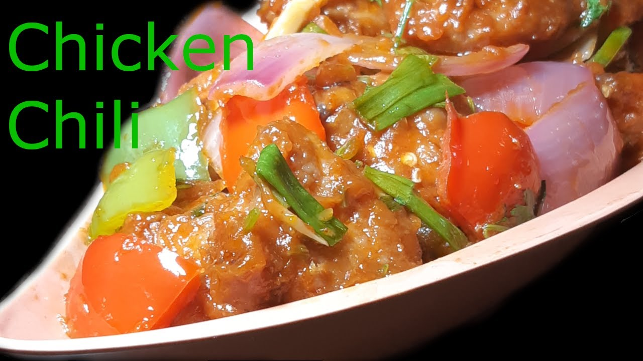 प र म ठ Chicken Chili Recipe In Nepali Eng Sub Youtube