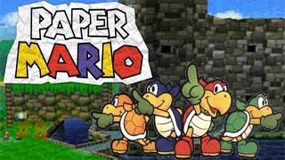 Paper Mario capítulo 8 El falso Bowser y el trabajo en equipo