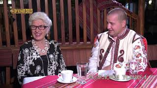 Илиян Йорданов и Янка Рупкина в предаването Фолклорна усмивка