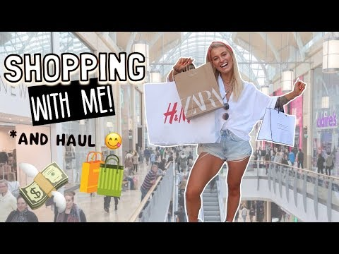COME SHOPPING WITH ME! ZARA, TOPSHOP, H&M HAUL & NEW HOME STUFF!!