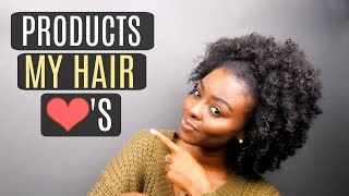 Products that helped me achieve THICK, HEALTHY, GROWING Natural Hair