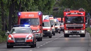 Größte Evakuierung seit 1945 - Einsatzfahrten Bombenentschärfung Köln-Riehl 27.5.2015