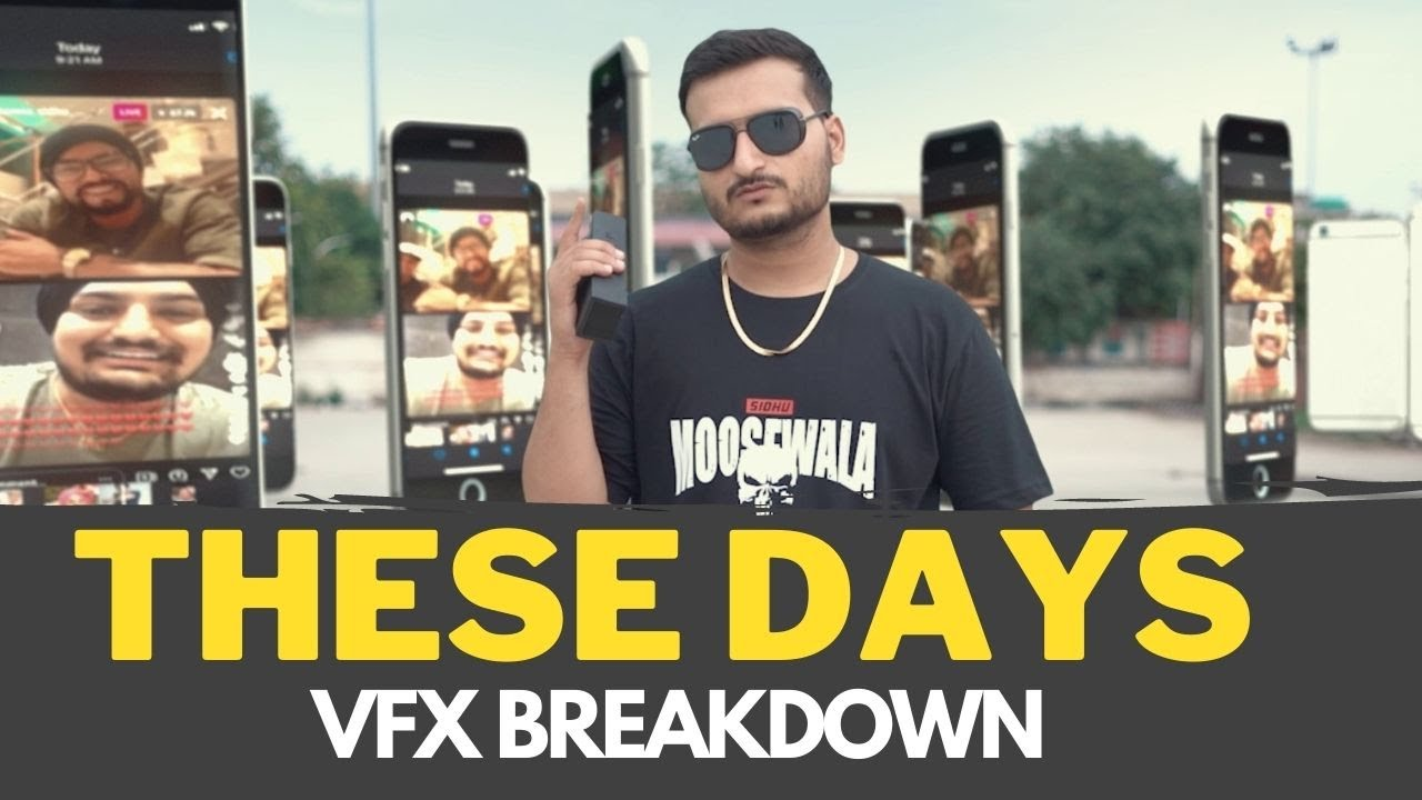 THESE DAYS | Sidhu Moosewala ft. BOHEMIA | Cover Video Vfx Breakdown | Inside Motion Pictures | 2021