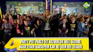 De Pieten Sinterklaas Move in de ZAPP Kids Top 20 - Party Piet Pablo