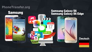 Wie Kalender / Kontakte synchronisieren / Media-Dateien von Samsung Phone Galaxy S7 / S6 (Edge)