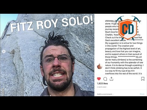 Most Outrageous Solo Since Honnold On El Cap? | Climbing Daily Ep.1388