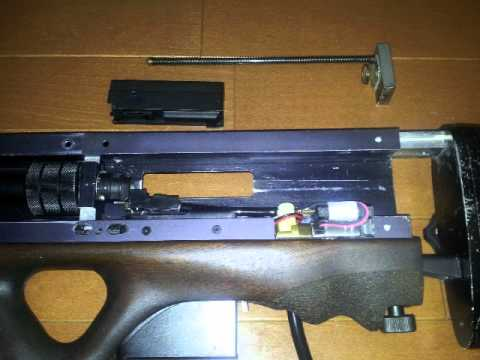AFA(NOT ARES) Walther WA2000+WE-tech SCAR =WE2000 GBB AIRSOFT part4