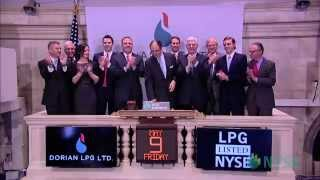 Dorian LPG Celebrates IPO on the New York Stock Exchange