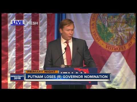 Ron DeSantis defeats Adam Putnam
