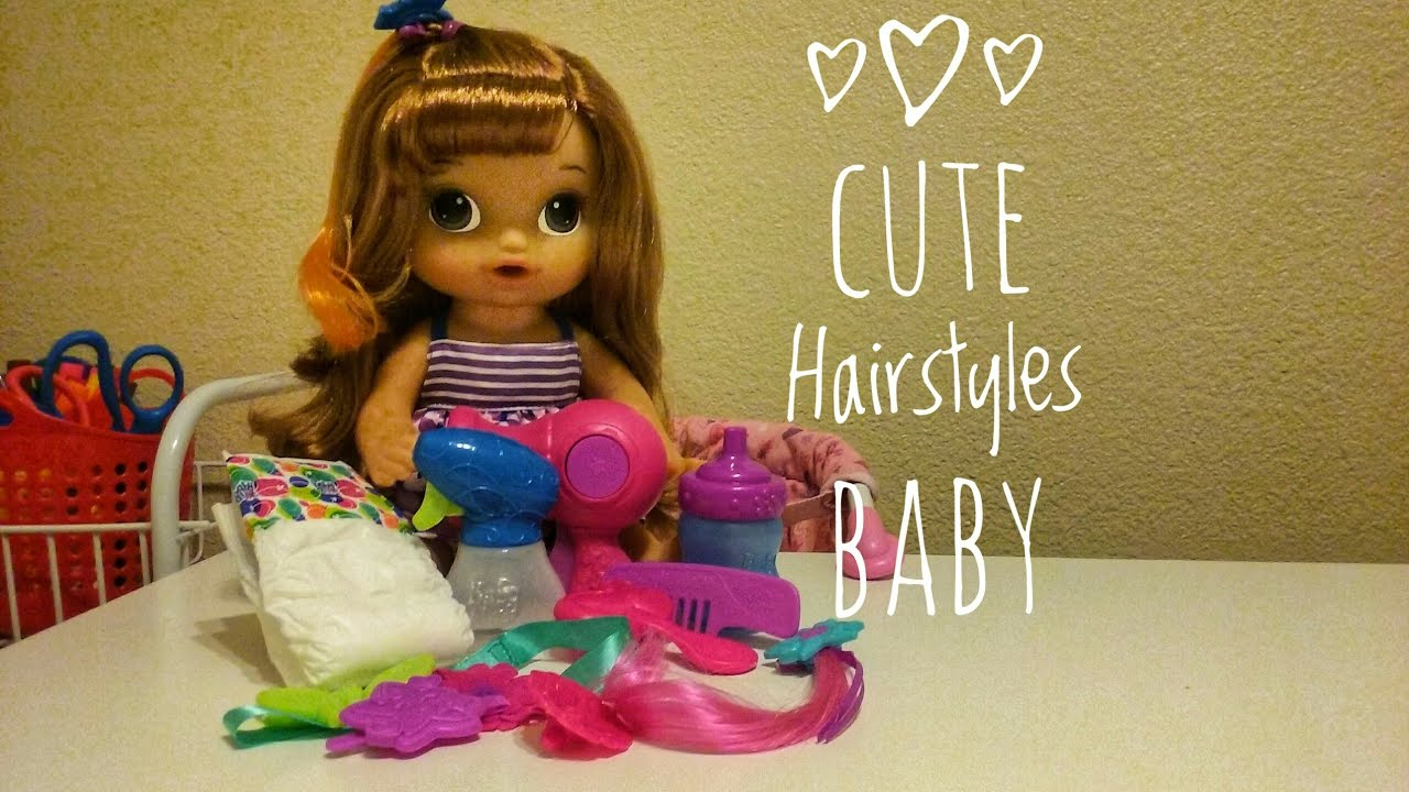 Unboxinig Baby Alive Cute Hairstyles Baby + Shopping at Khol's ...
