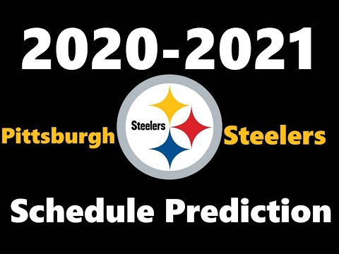 Predicting The Pittsburgh Steelers Schedule 2020 2021 Nfl Season Youtube