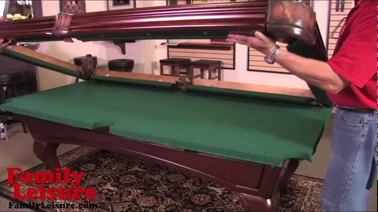 Moving A Pool Table In One Piece Elanecdotario