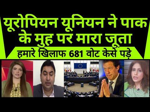 Pakistan media shocked   European Union ne pakistan ke muh par mara juta  