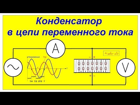 Конденсатор в цепи переменного тока. Практические пояснения