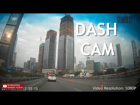 Car Dash Cam JUNSUN T518 - GearBest