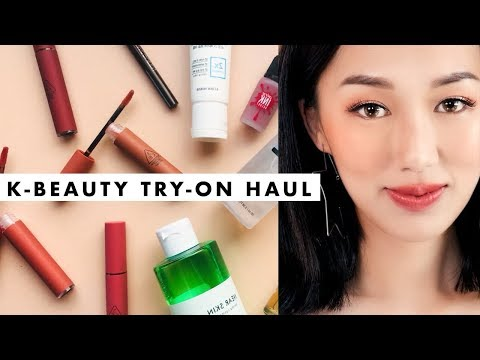 Korean Beauty Try-On Haul + Review | YESSTYLE FIRST IMPRESSIONS