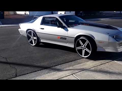 Z28 CAMARO ...stoc rear one wheel wonderer for now & that loud clink trans was no good..