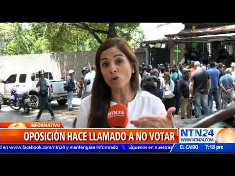 Diputado Olivares: A las 11 am solo había votado 12 % del padrón electoral