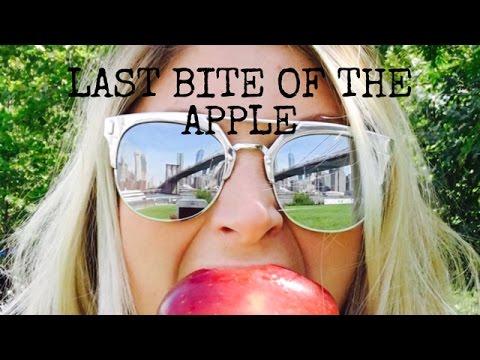 Last Bite Of The Apple!