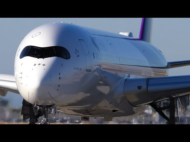 CLOSE UP TAKEOFFS | A330 A350 787 | Melbourne Airport Plane Spotting