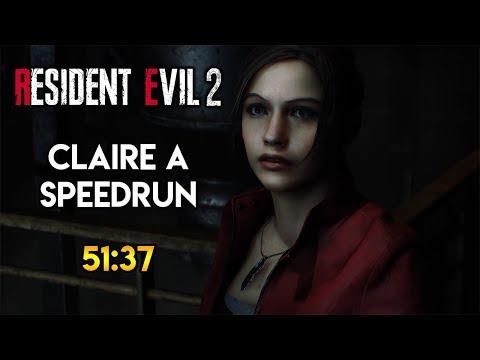 Resident Evil 2 Remake - Claire A Speedrun - 51:37