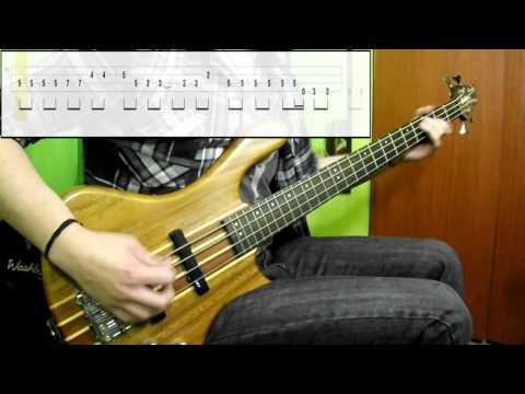 Bon Jovi - Livin' On A Prayer (Bass Only) (Play Along Tabs In Video)
